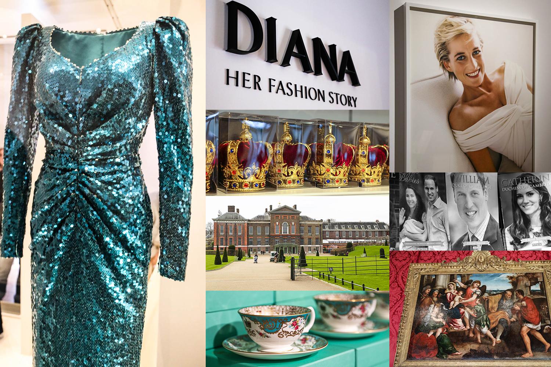 Rojalistin unelma: Dianan pukunäyttely Kensingtonin palatsissa
