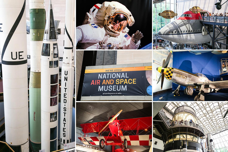Washington D.C. on ilmailu- ja avaruusfanin unelmakohde