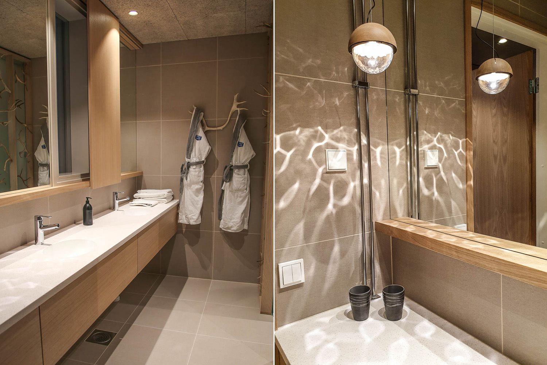 Hotelli Iso-Syöte kylpyhuone