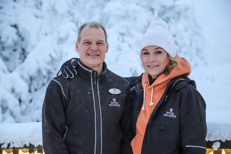 Juha ja Katariina Kuukasjärvi.