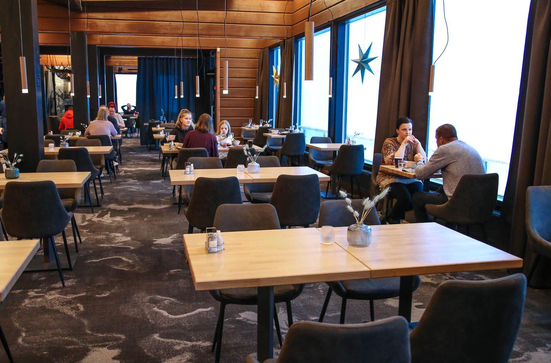 Hilltop ravintola hotelli Iso-Syöte