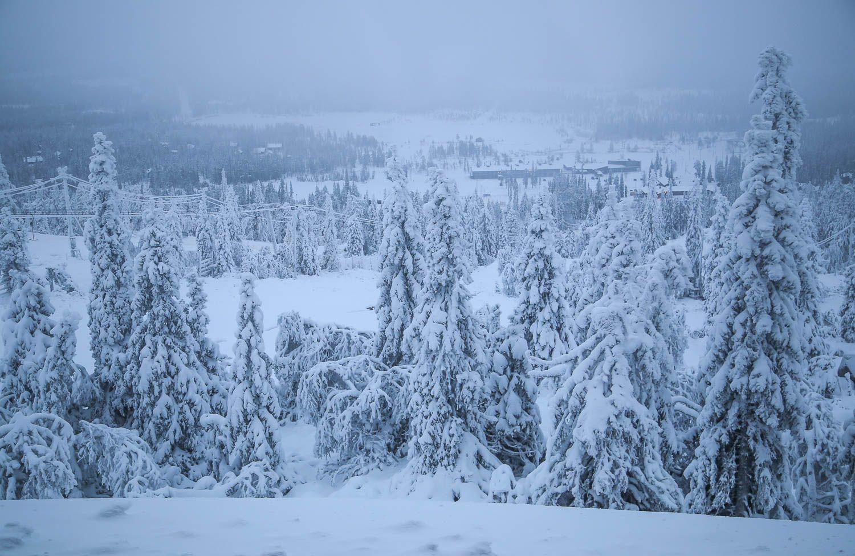 Iso-Syötteen hiihtokeskus.