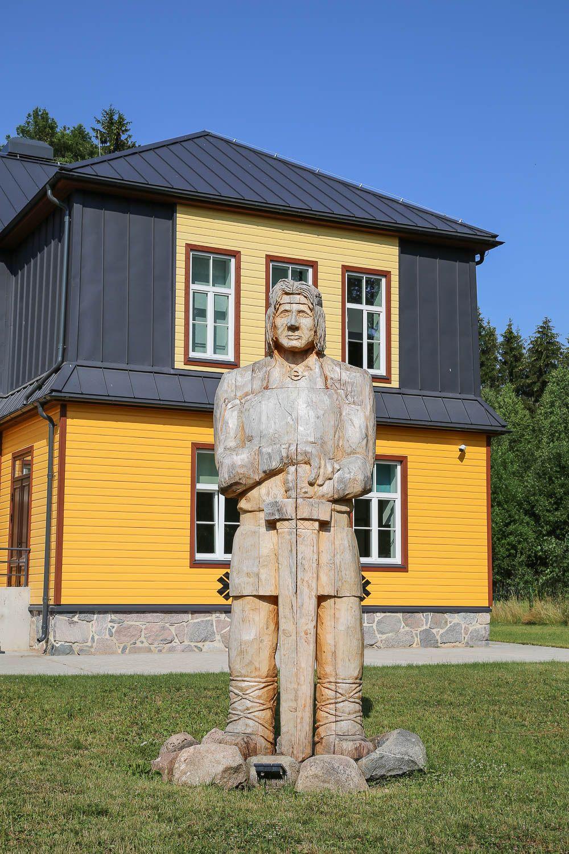 Kalevipoeg museum, Viro. Lue lisää: https://walleni.us/ Kuva: Sanna Wallenius